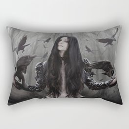 Jackdaw Rectangular Pillow