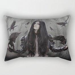 Jackdaw Rectangular Pillow