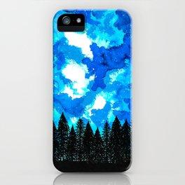 Moonlit Shadow iPhone Case