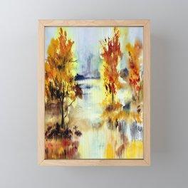 Autumn Arrangement Framed Mini Art Print