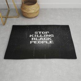 Stop Killing Black People Rug