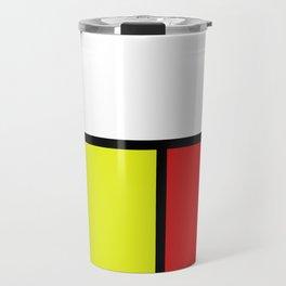 Mondrian #20 Travel Mug