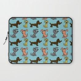 small dogs . art Laptop Sleeve