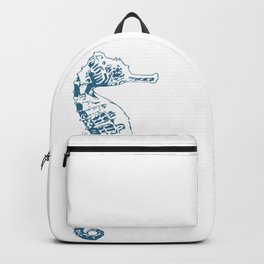Cape Seahorse Backpack