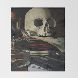 Vanitas Throw Blanket