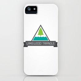 Lakewood Triangle iPhone Case