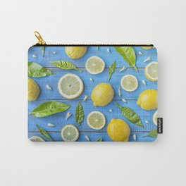 Fruits and leaves pattern (32) Carry-All Pouch