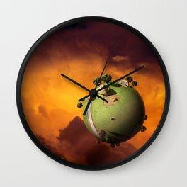 Kaito's Planet Wall Clock