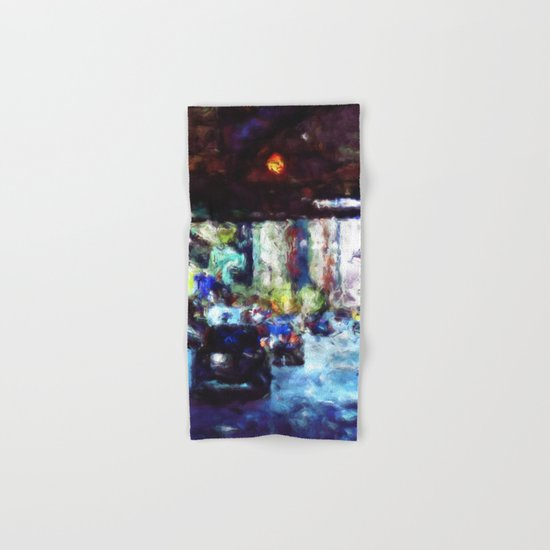 Traffic In The City Hand & Bath Towel