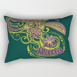 Hana Maui Tribal Threads Rectangular Pillow