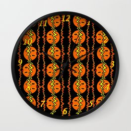Pumpkin 04 Wall Clock