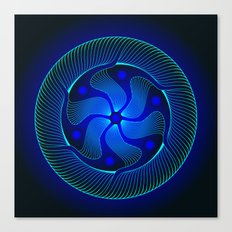 Circle Study No. 371.1 Canvas Print