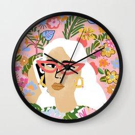 Fashion Is Calling Me Wall Clock