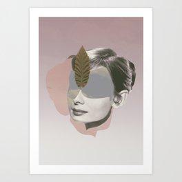 AUDREY HEPBURN - Actr3ss Art Print
