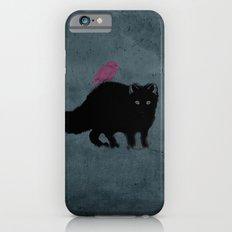 Cat and bird friends! iPhone 6s Slim Case