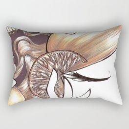 Vitamin C Rectangular Pillow