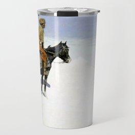 "Frederic Remington Western Art ""The Scout"" Travel Mug"