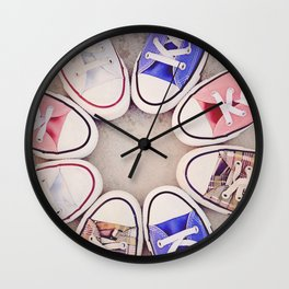 in love with chuck Wall Clock