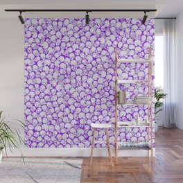 Gothic Crowd ULTRA VIOLET Wall Mural