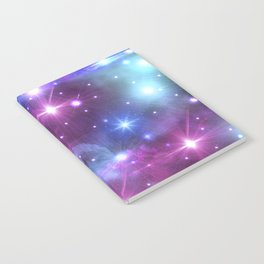 Fantasy Space Glow Notebook