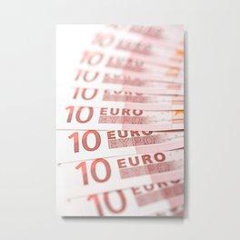 10 Euros Metal Print