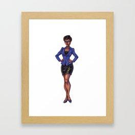 Leslie Helios Framed Art Print