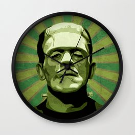 Frankenstein - Pop Art Wall Clock