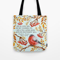 Jane Eyre Quote Tote Bag