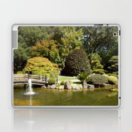 Japanese Gardens 100 0052 Laptop & iPad Skin