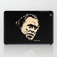 bukowski iPad Cases featuring Bukowski#! by f_e_l_i_x_x