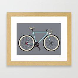Classic Road Bike Framed Art Print