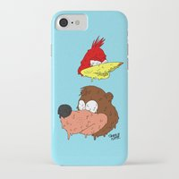 banjo iPhone & iPod Cases featuring Banjo by Nate Galbraith