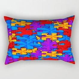 Puzzle Time Rectangular Pillow