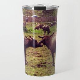 Buffaloes Travel Mug