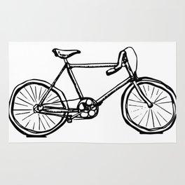 Path Racer Bicycle Rug
