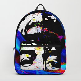 GUITAR MAN FEEL THE MUSIC KISS THE SKY Backpack