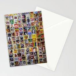 Retro postcards Stationery Cards