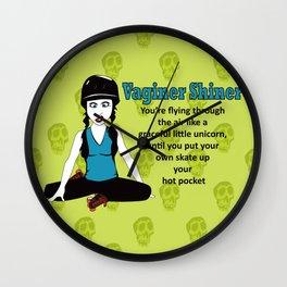 Vaginer Shiner - Derby definition Series 1 Wall Clock