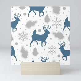 Christmas pattern 5 Mini Art Print