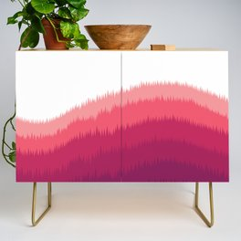Layered Forest Hills - Purple to Pink Credenza
