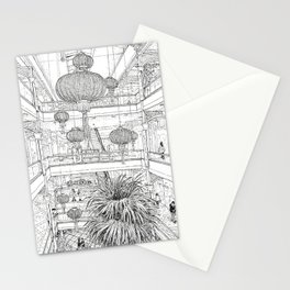 Power Plant (Right Page) Stationery Cards