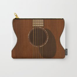 Acoustic Guitar Art Carry-All Pouch