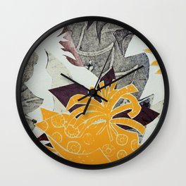 Urban Tropical Wall Clock