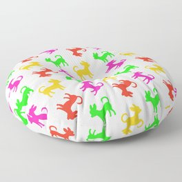 Chihuahua Party Time Floor Pillow