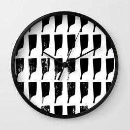 Rowing Oars 2 Wall Clock