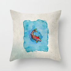 Small Fish. Small Pond. Throw Pillow