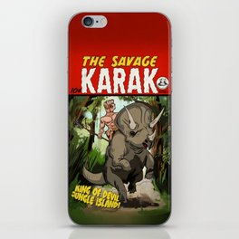 The Savage KARAK, King of Devil Jungle Island iPhone Skin
