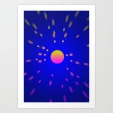 Mind space Art Print