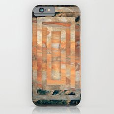 Cave abstraction iPhone 6s Slim Case