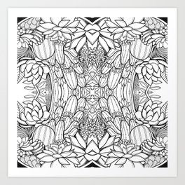 Succulent Dream Art Print